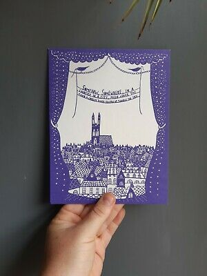 Limited Edition Rob Ryan Print From 2011 Exhibition Invitation  • 20£