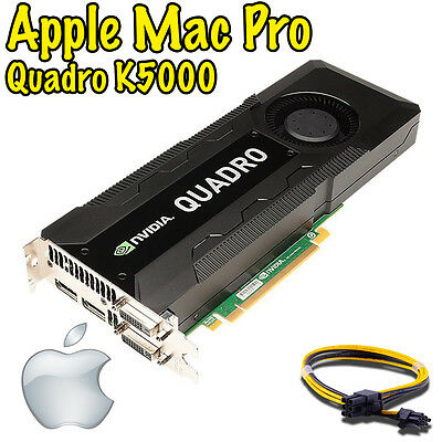 $ CDN314.18 • Buy  Nvidia Quadro K5000 4GB Apple Mac Pro - Mojave Catalina Big Sur ON SALE!!!