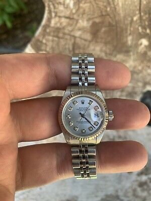 $ CDN4354.18 • Buy Ladies Rolex Oyster Perpetual Datejust Watch 6516 Stainless Steel 26mm