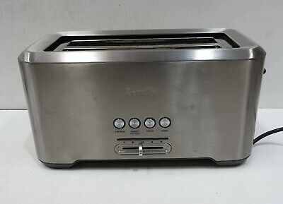 AU49.99 • Buy Breville BTA730 The Lift And Look Pro 4-Slice Toaster - Silver
