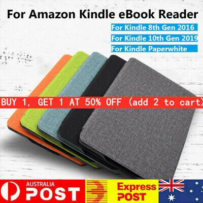 AU14.24 • Buy Ultra Slim Smart Case PU Leather Cover For Kindle 8/10th Gen Paperwhite 1/2/3/4~