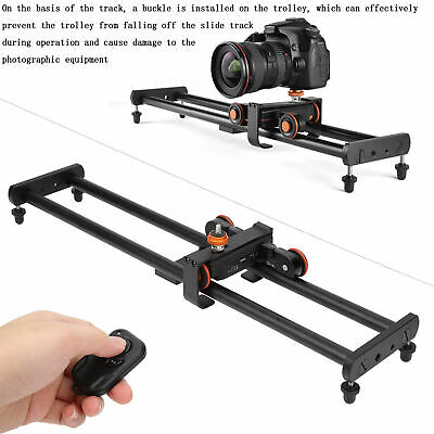 Motorized Electric Slider Dolly Demountable Video Track For Cameras Smart Phone • 98.47£