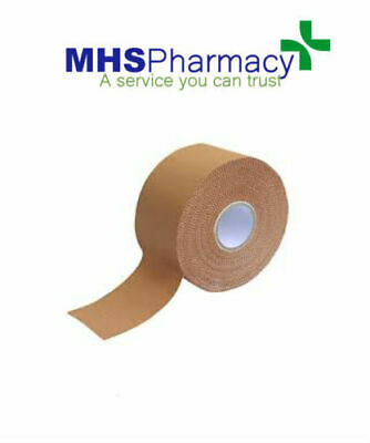 CAREWAY Fabric Strapping Tape Heavy Duty Sports Medical Support  2.5cm X 3m • 8.49£