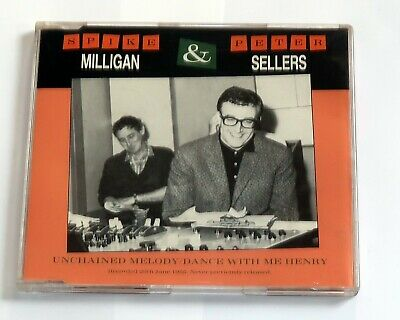 Spike Milligan & Peter Sellers. Unchained Melody + 3. CD 1990. • 3.49£