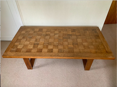 Mid-century Danish Chequered-top Coffee Table By Paul Cadovius, France & Son • 450£