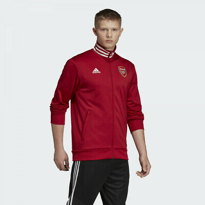 Adidas 2019-2020 Arsenal 3 Stripe Track Jacket EH5623 Size XL • 49.99£