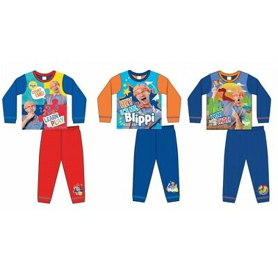 Boys Official Blippi Toddler Long Pyjamas Pjs Age 1-5 Years  • 7.95£