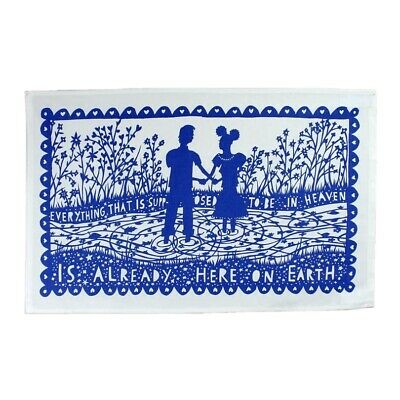 Rob Ryan Tea Towel Never Used - Everything That Is Supposed To Be In Heaven • 1.50£