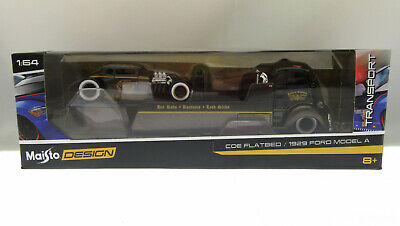 $18.05 • Buy Maisto Die Cast ~ COE Flatbed ~ 1929 Ford Model A ~ 1:64 Scale
