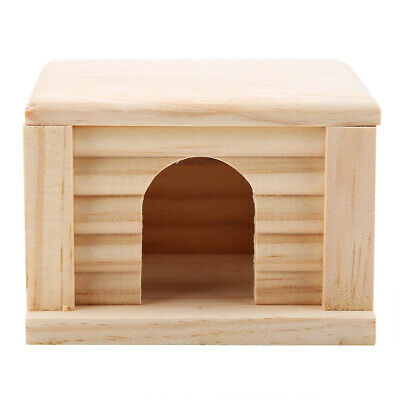 £5.98 • Buy Wooden Playground House Nest For Hamster Small Animal Wood Guinea Pig Cage
