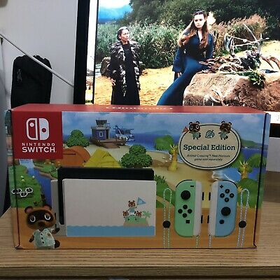 AU330 • Buy Brand New Nintendo Switch Animal Crossing Edition Console  Australian Stock