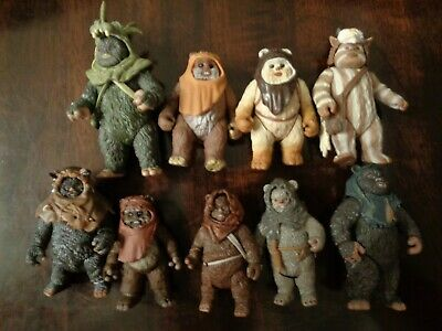 $ CDN5.67 • Buy Star Wars Vintage Collection - Ewok LOT Of 9 Wicket Action Figure