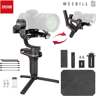 AU468 • Buy Zhiyun Weebill S 3-Axis Gimbal For Mirrorless & DSLR Cameras Improved Motor W9T6