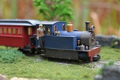 009/oo9 Narrow Gauge Peckett Tank Engine With Motion Covers • 25£