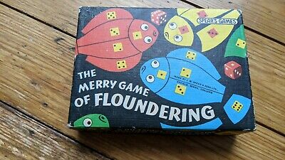 The Merry Game Of Floundering Vintage Game By Spears  • 4.10£