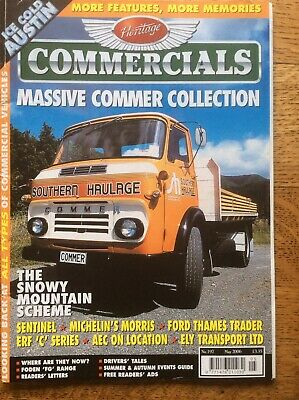 £4.89 • Buy HERITAGE COMMERCIALS MAGAZINE - May 2006 Commer Trader ERF Sentinel K2 Michelin