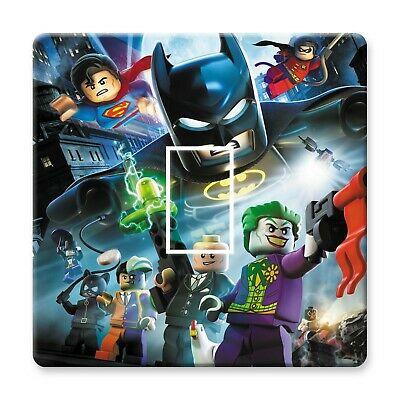 Lego Batman Light Switch Sticker Decal Kids Boys Girls Bedroom • 1.69£