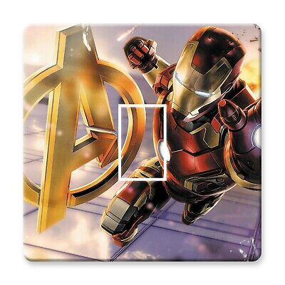 Lego Avengers Light Switch Sticker Decal Kids Boys Girls Bedroom • 1.69£