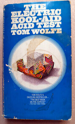 The Electric Kool-Aid Acid Test - Tom Wolfe - Ken Kesey Autographed Unique Rare • 150£
