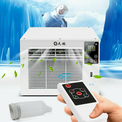 AU259.01 • Buy Indoor Window Air Conditioner Portable 1.1kW Wall Cooler Fan Cooling Only