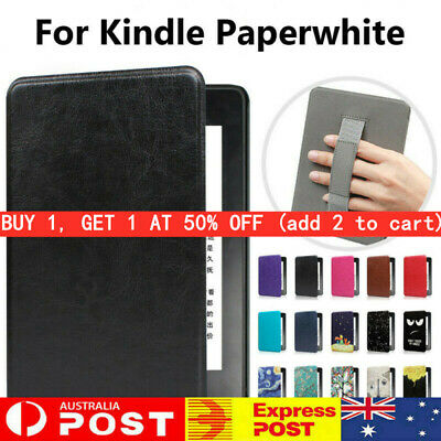AU13.86 • Buy Smart Magnetic Case Cover For Kindle Paperwhite 1/2/3/4 10th Gen2018 Hand Holder