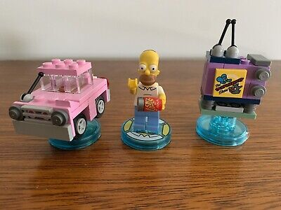 AU21.50 • Buy LEGO Dimensions The Simpsons Level Pack 71202