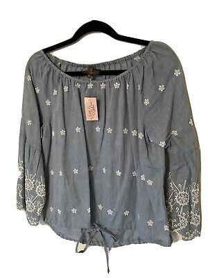 Captain Tortue Little Miss Captain Embroidered Blouse Size M (12)  • 6.75£