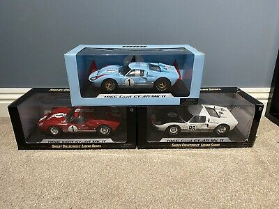 1:18 Shelby Collectibles 1966 Ford GT-40 MK II - Ken Miles Collection • 220£