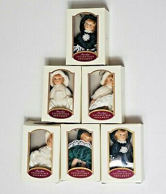 $ CDN18.93 • Buy Victorian Porcelain Doll Collectible Christmas Ornaments Collectors Item Lot