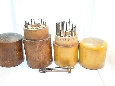$ CDN162.93 • Buy Large Lot Vintage UNBRANDED Watchmakers PIVOT DRILLS In Box With Watch Tool VG