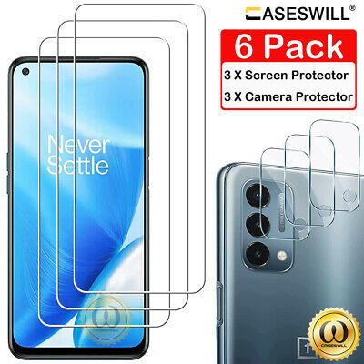 AU6.77 • Buy For OnePlus Nord 2 N200 N10 CE 5G N100 HD-Clear Tempered Glass Screen Protector