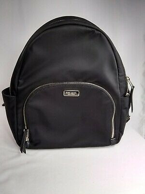 $ CDN173.78 • Buy Kate Spade Dawn Large Backpack Bag Black Nylon Pre-owned In Excellent Condition