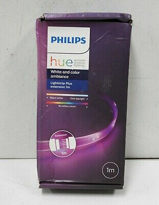 AU59.99 • Buy Philips Hue Lightstrip Plus - White And Color Ambiance - 1 Meter - Extension