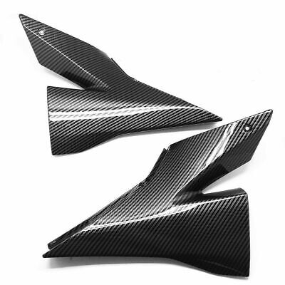 $98.99 • Buy For Kawasaki 2004 2005 Ninja ZX-10R Gas Tank Side Knee Fairing Cowl Carbon Fiber