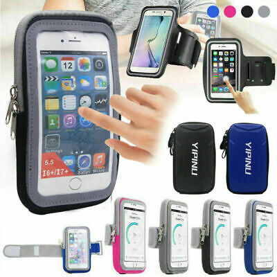 AU16.99 • Buy Armband Case Sports Gym Running Jogging Exercise Arm Band Phone Holder Key Bag