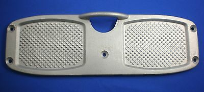 AU27.59 • Buy Aluminium Outboard Motor Transom Support Pad Alloy Fishing Speed Boat Dinghy M8