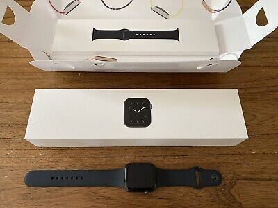 AU480 • Buy Apple Watch Series 5 GPS + Cellular, 44mm, Space Gray Aluminum, Black Sport Band
