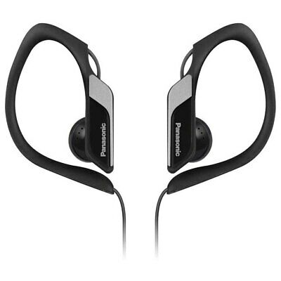 Panasonic Clip-on Headphones Electronics Black With Cable Deportivo • 13.99£