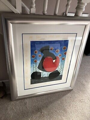 Mackenzie Thorpe - Life - Very Rare - Limited Edition - Framed - Signed • 899£
