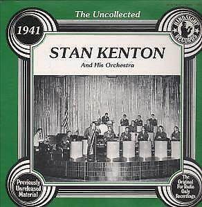 STAN KENTON AND HIS ORCHESTRA 1941 Uncollected LP VINYL USA Hindsight 1978 17 • 2.84£