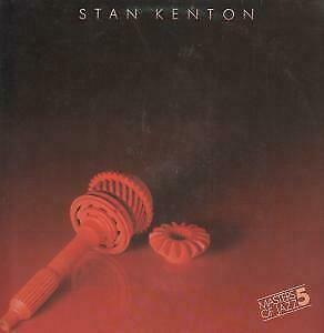 STAN KENTON AND HIS ORCHESTRA Masters Of Jazz 5 LP VINYL Germany Emi 9 Track • 2.26£