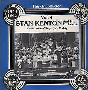 STAN KENTON AND HIS ORCHESTRA Uncollected Vol 4 1944-45 LP VINYL USA Hindsight • 5.24£
