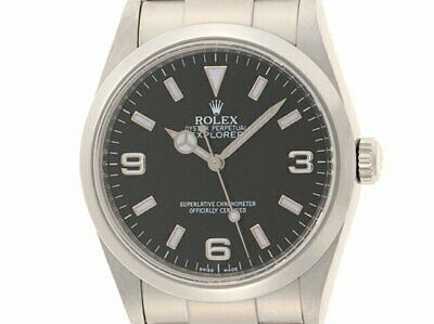 $ CDN10789.01 • Buy ROLEX Explorer 1 SS 114270 #D036