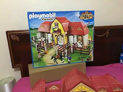 Playmobil Country 5221: Large Horse Farm With Paddock, Figures, Accessories • 110£
