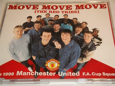 Manchester United Move Move Move The Red Tribe CD Single • 1.69£