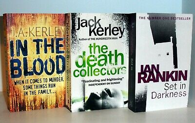 £11.99 • Buy Collection Of 3 New Crime Thrillers - Jack Kerley & Ian Rankin