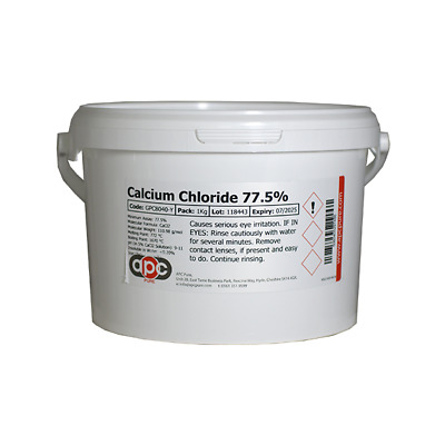 £14.95 • Buy Calcium Chloride 77.5% 2.5Kg *Fast Shipping* *Professional Seller*