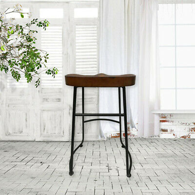 AU159.50 • Buy Room Kitchen Tractor Bar Stools Vintage Stool Industrial Retro Chairs Wooden