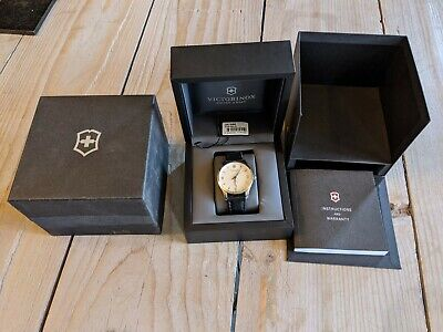 Mens Victorinox Swiss Army Alliance Automatic Mechanical Watch 241666 RRP £650 • 199£