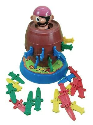 £7.99 • Buy Vintage Tomy Pop Up Pirate Game Classic Barrel Of Fun For All The Family